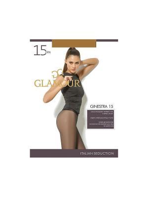 Колготки Ginestra 15 Glamour. Цвет: темно-бежевый