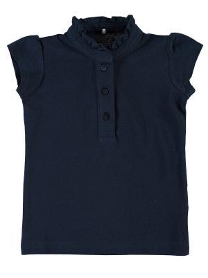Блузка NAME IT. Цвет: темно-синий