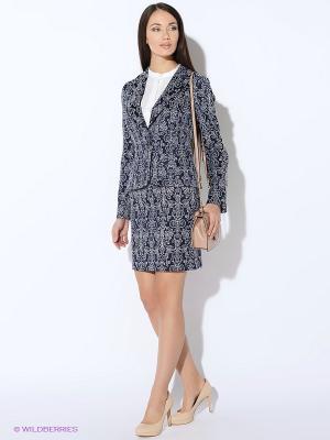 Пиджак Colambetta. Цвет: темно-синий, серый