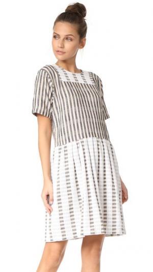 Платье Paz ace&jig. Цвет: честер