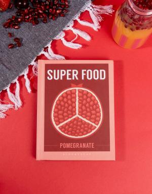 Books Книга Pomegranate Super Food. Цвет: мульти