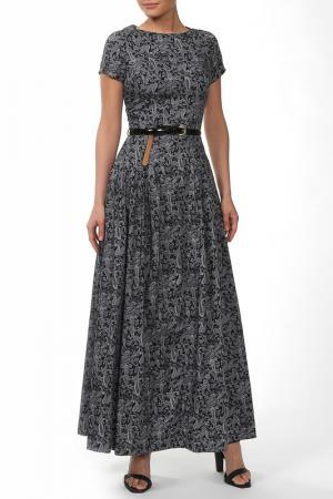 Платье Бэст NATALIA PICARIELLO. Цвет: серый