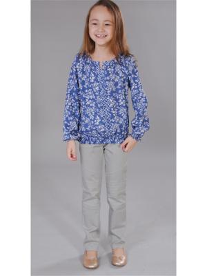 Блузка Милашка Сьюзи. Цвет: индиго