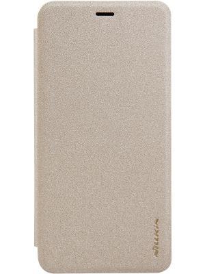 Чехол для Meizu M5 Nillkin. Цвет: золотистый