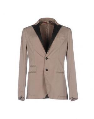 Пиджак AGLINI. Цвет: голубиный серый