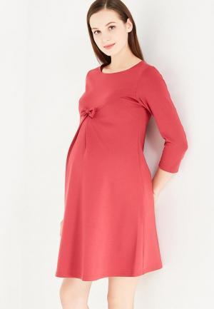 Платье Hunny mammy. Цвет: бордовый