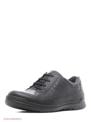 Ботинки ECCO. Цвет: серый, темно-серый, бронзовый