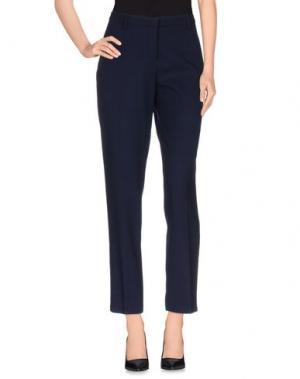 Повседневные брюки TRUE ROYAL. Цвет: темно-синий