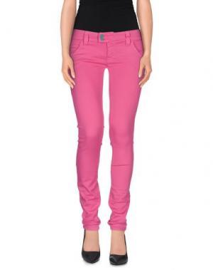 Джинсовые брюки CYCLE. Цвет: светло-фиолетовый