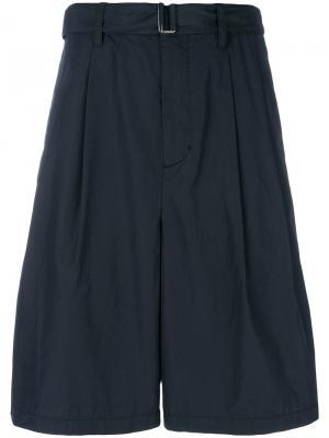Belted bermuda shorts 3.1 Phillip Lim. Цвет: синий