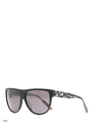 Солнцезащитные очки MI 801S 01 Missoni. Цвет: черный, белый