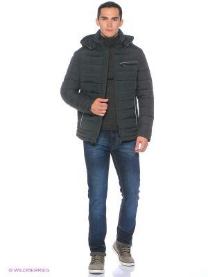 Куртка Snow Guard. Цвет: темно-серый