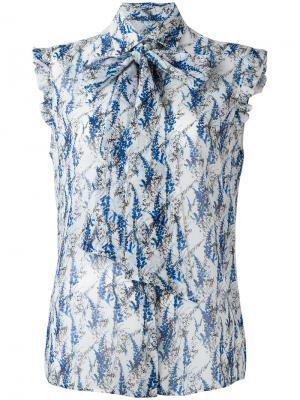 Рубашка с принтом Kiton. Цвет: многоцветный