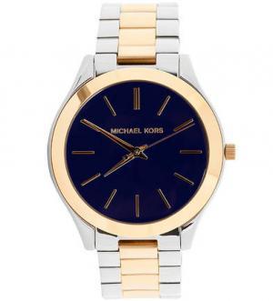 Кварцевые часы с металлическим циферблатом Michael Kors