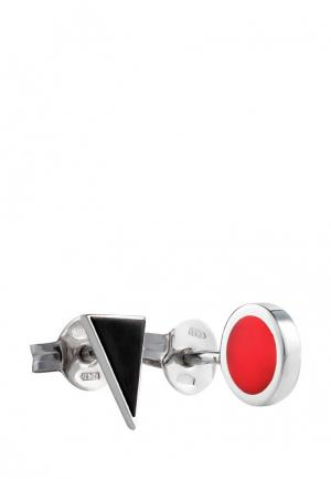 Серьги Natalia Bryantseva Jewelry. Цвет: разноцветный
