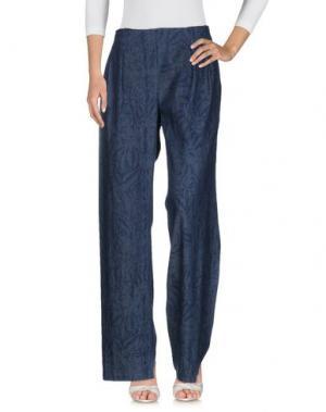 Джинсовые брюки NEW YORK INDUSTRIE. Цвет: синий