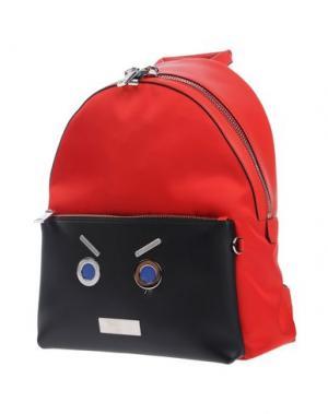 Рюкзаки и сумки на пояс FENDI. Цвет: красный
