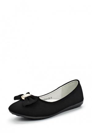 Балетки Zenden Collection. Цвет: черный