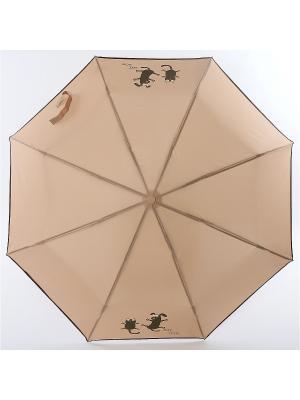 Зонт ArtRain. Цвет: светло-коричневый