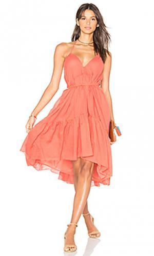 Three way dress Carolina K. Цвет: оранжевый