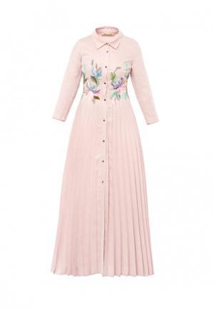 Платье Yukostyle. Цвет: розовый