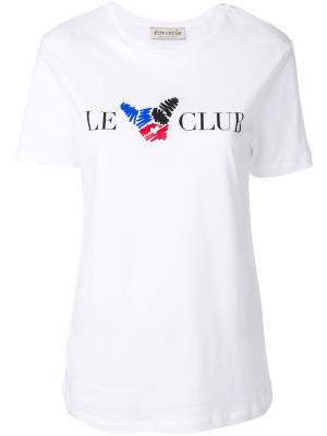 Футболка Le Club Être Cécile. Цвет: белый