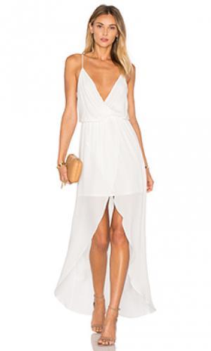 Вечернее платье jones Rory Beca. Цвет: белый