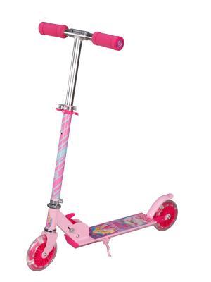 Самокат Детский двухколесный Navigator Barbie. Цвет: розовый