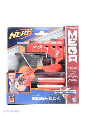 МЕГА Большой выстрел NERF. Цвет: синий, зеленый, красный, оранжевый