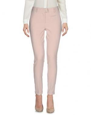 Повседневные брюки PEPEROSA. Цвет: бежевый
