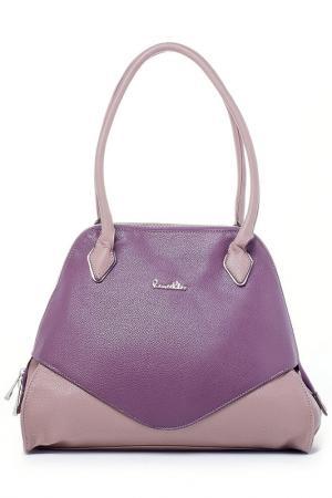 Сумка Renee Kler. Цвет: фиолетовый, песочный