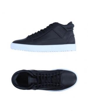 Высокие кеды и кроссовки ETQ AMSTERDAM. Цвет: черный