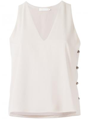 Embellished tank top Giuliana Romanno. Цвет: none