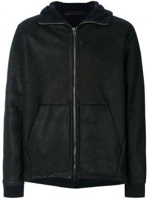 Куртка-бомбер на молнии Salvatore Santoro. Цвет: чёрный