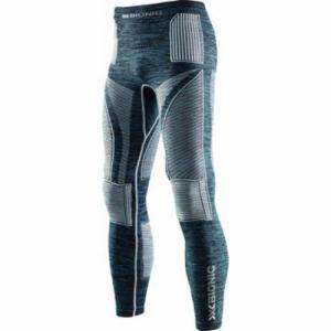 Термо-Штаны X-Bionic. Цвет: blue melange/white