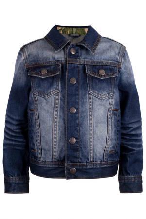 Жакет Gulliver. Цвет: синий, джинсовый