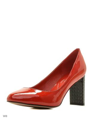 Туфли Renaissance. Цвет: красный