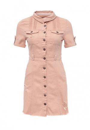Платье Urban Bliss. Цвет: розовый