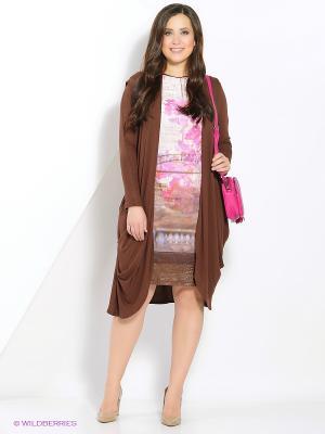 Комплект одежды Amelia Lux. Цвет: розовый, коричневый