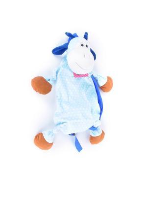 Мягкая игрушка жирафик Сумчатый Malvina. Цвет: голубой