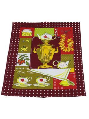 Набор полотенец Кухня 2шт Римейн. Цвет: зеленый, красный