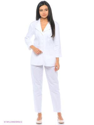 Рубашка Med Fashion Lab. Цвет: белый