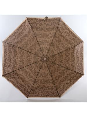 Зонт Zest, 3 слож, ПолнАвто, П-Э Zest. Цвет: серый, темно-серый