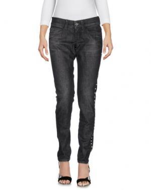 Джинсовые брюки MISS SIXTY. Цвет: черный