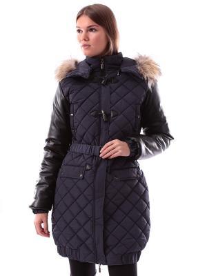 Пальто Sport Vision. Цвет: темно-синий, черный