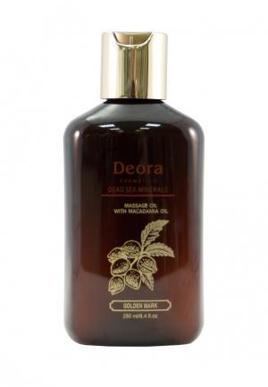 Масло массажное Deora Cosmetics. Цвет: коричневый