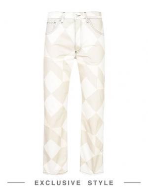 Повседневные брюки ARTHUR ARBESSER x YOOX. Цвет: светло-серый
