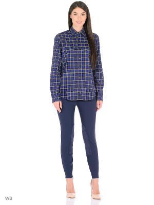 Рубашка MERCEDES-BENZ. Цвет: черный, белый, синий