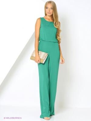 Комбинезон Milana Style. Цвет: зеленый
