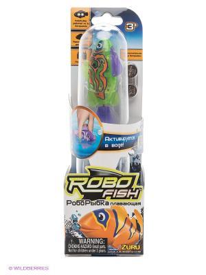 Тропическая робо-рыбка Мандаринка ZURU. Цвет: оранжевый